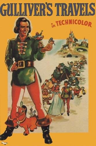Gulliver's Travels 1939 movie poster