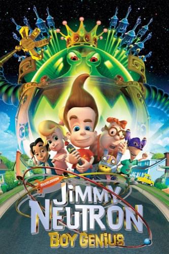 Jimmy Neutron Boy Genius 2001 movie poster
