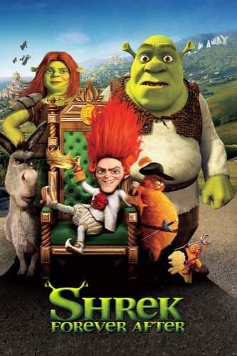 Shrek Forever After 2010 movie poster