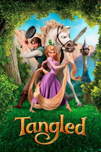 Tangled 2010 movie poster