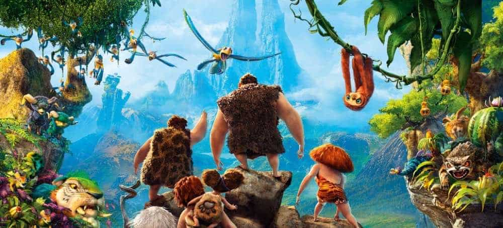 The Croods 2013 Featured Animation