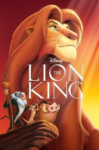The Lion King 1994 movie poster