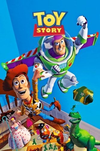 Toy Story 1995 movie poster