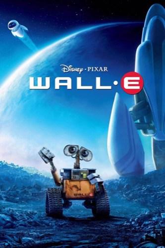 Wall-E 2008 movie poster