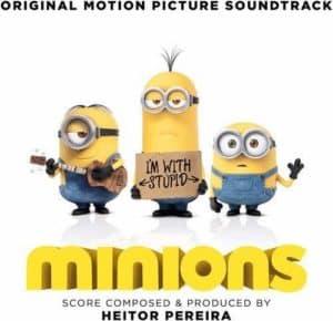 Minions soundtrack album cover