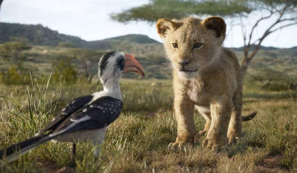 The Lion King 2019 Simba and Zazu
