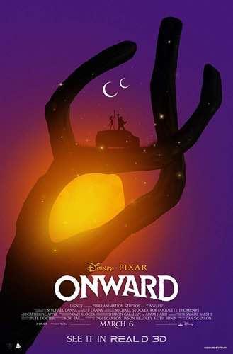 Onward movie poster 3 2020