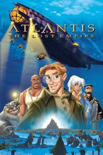 Atlantis The Lost Empire 2001 movie poster