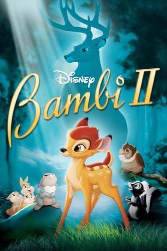 Bambi 2 2006 movie poster