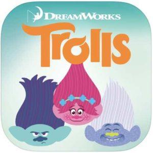 Emoji Trolls iphone and ipad app icon image