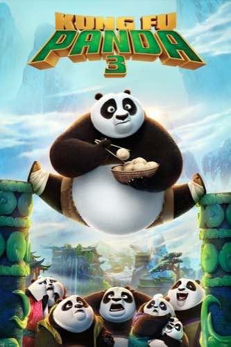 Kung Fu Panda 3 2016 movie poster