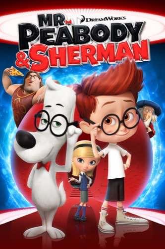 Mr. Peabody & Sherman 2014 movie poster