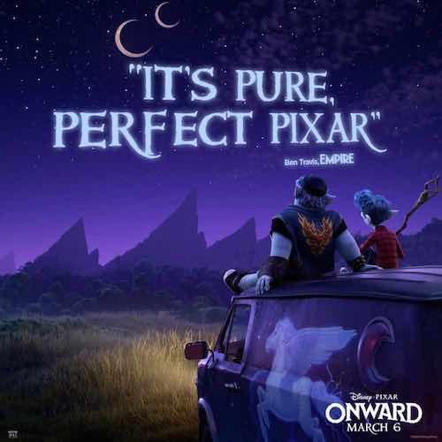 Pixar Onward Pure Perfect Pixar