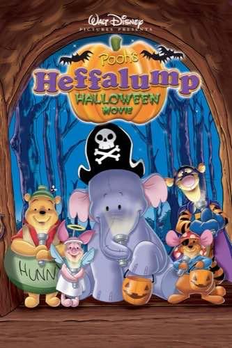 Pooh's Heffalump Halloween Movie 2005 movie poster