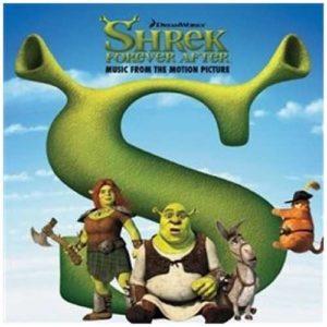 Shrek Forever After soundtrack album cover