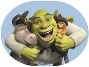 Shrek movie stickers app icon