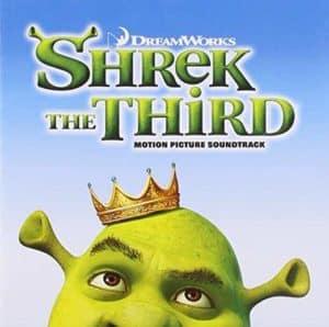 Shrek the Third soundtrack album cover