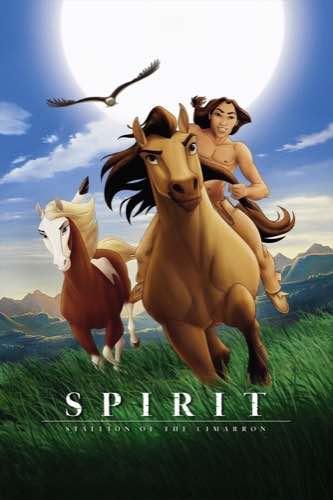 Spirit Stallion of the Cimarron 2002 movie poster