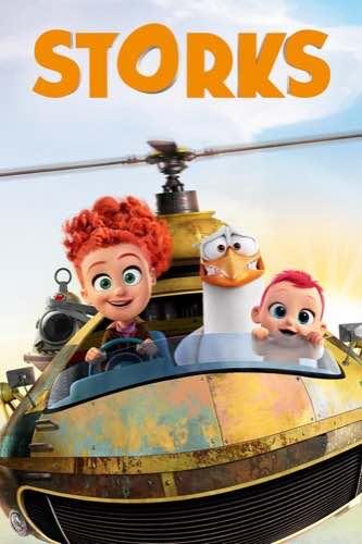 Storks 2016 movie poster