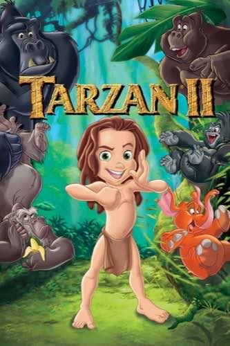 Tarzan 2 2005 movie poster
