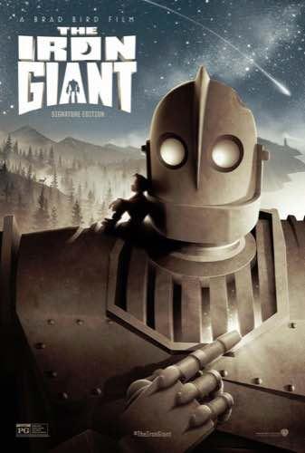 The Iron Giant 1999 movie poster