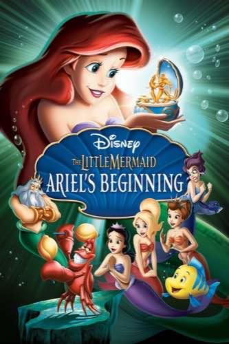 The Little Mermaid Ariel's Beginning 2008 movie poster