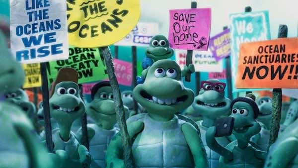 Aardman animations Turtle Journey
