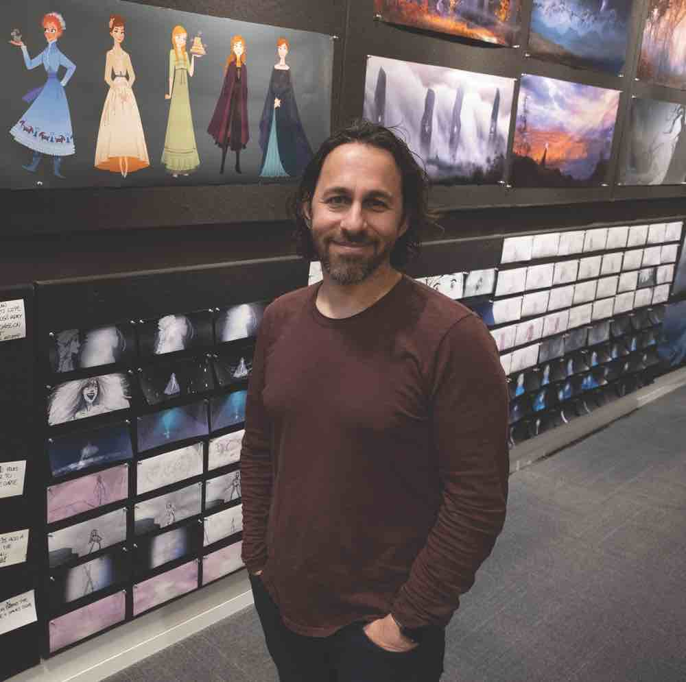 Frozen 2 Director of Story Marc Smith