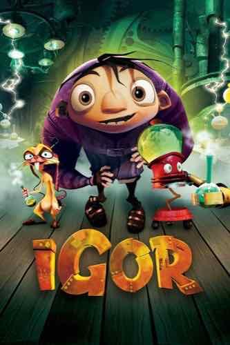 Igor 2008 movie poster