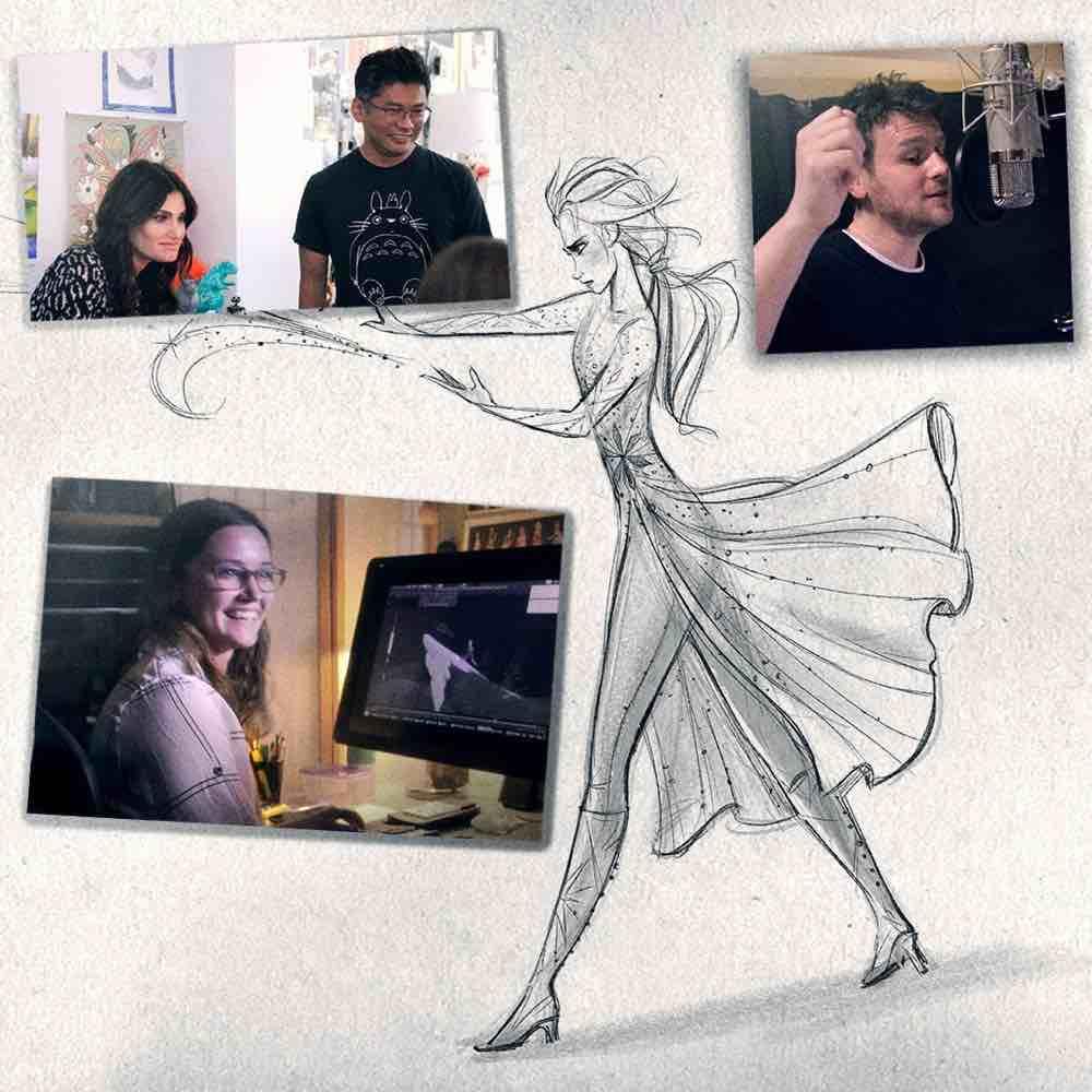 Walt Disney Animation Studio behind the scenes