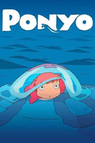 Ponyo 2008 movie poster