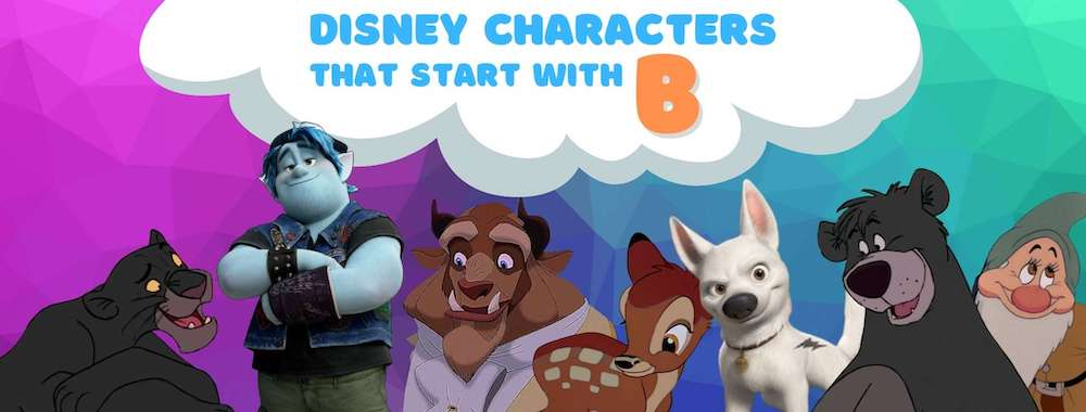 Disney Characters names that start with B