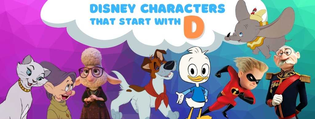 Disney Characters names that start with D