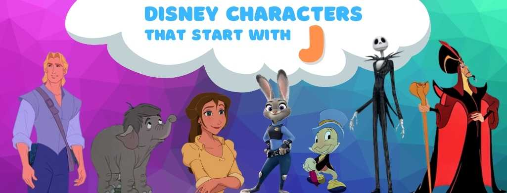 Disney Characters names that start with J