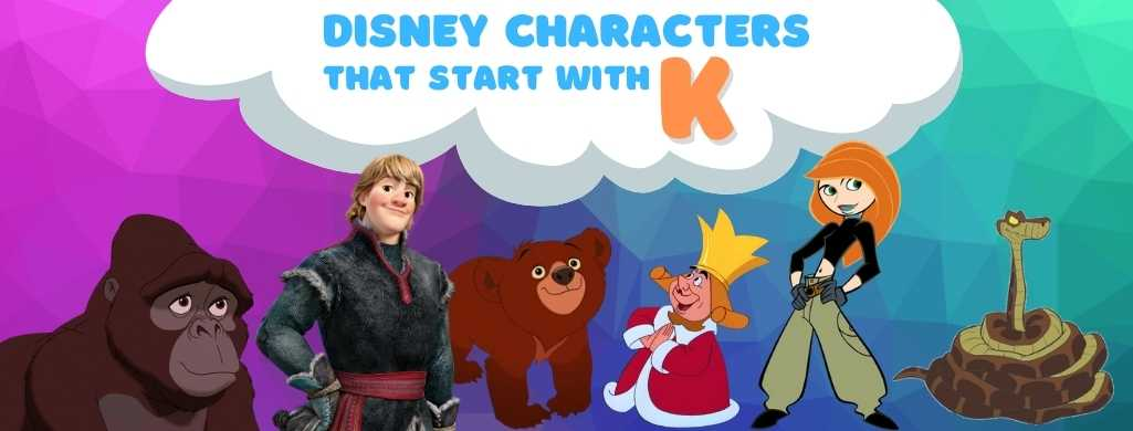 Disney Characters names that start with K