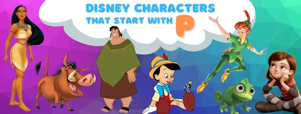 Disney Characters names that start with P