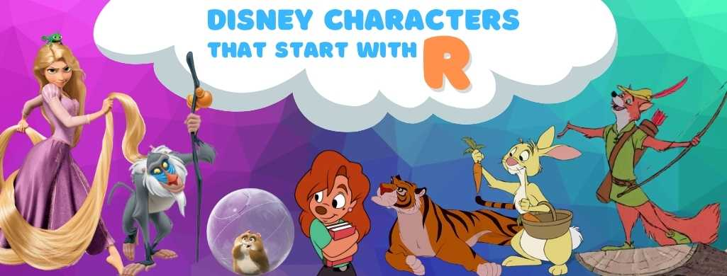 Disney Characters names that start with R