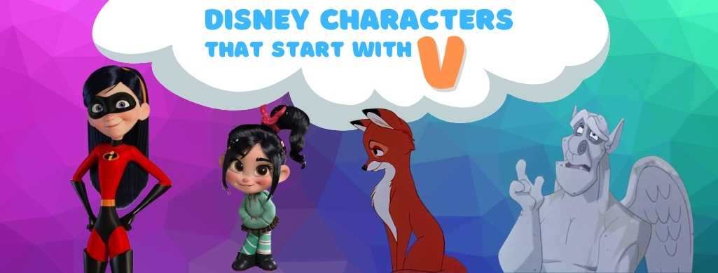 Disney Characters names that start with V