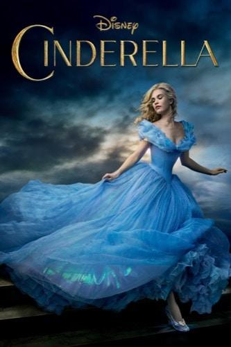 Cinderella 2015 Live Action movie poster