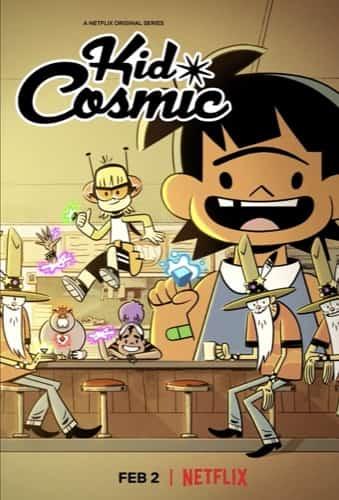 Kid Cosmic Netflix TV series poster