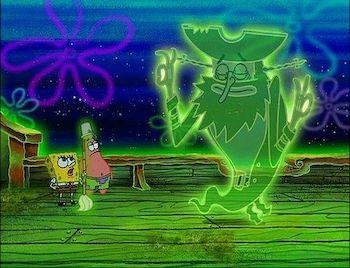 SpongeBob Patrick and The Flying Dutchman