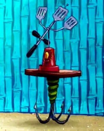 Spongebob's Hydrodynamic Spatula