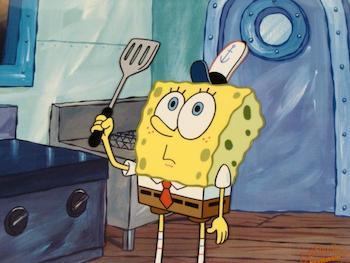 Spongebob's Spat Spatula