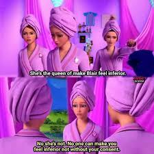 Barbie felt inferior meme