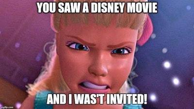 Barbie in Toy Story meme