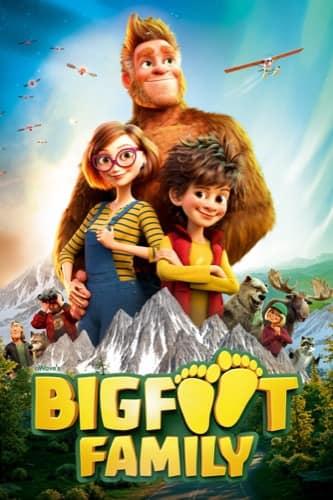 Bigfoot Family 2020 movie poster