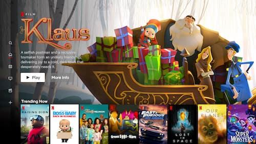 Netflix kids movies menu for children