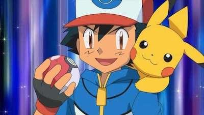 Pokemon Reboot Ash and Pikachu
