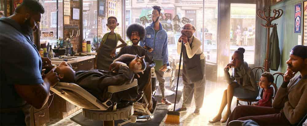 Soul movie Pixar at the Barber Shop