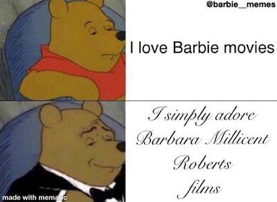 Winnie the Pooh talking Barbie movies